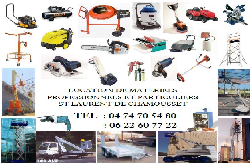 Location materiel particuliers professionnels for Location materiel particulier a particulier